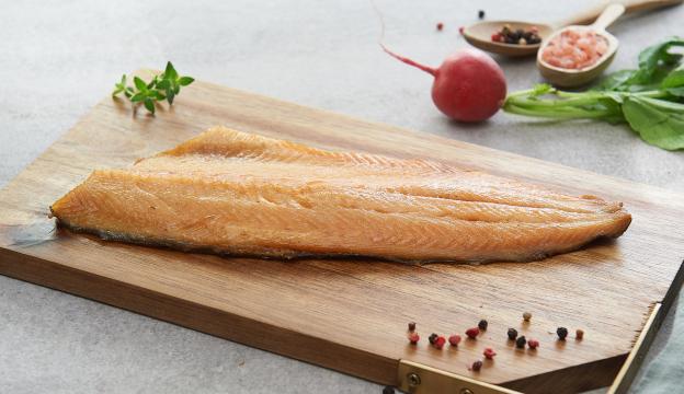 geräuchert Fisch